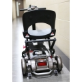 back side of the powered wheelchair