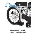 環抱剎車設計,讓車輪更耐用,剎車時也更省用