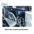 摺疊後可方便放入汽車前後座之間的空間及後備箱中