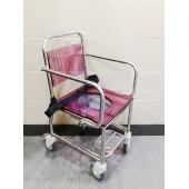 OASIS EHGE-0789不锈鋼坐便浴厠車