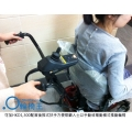 可加HKD1,300配置後推式扶手,方便照顧人士以手動或電動模式推動輪椅